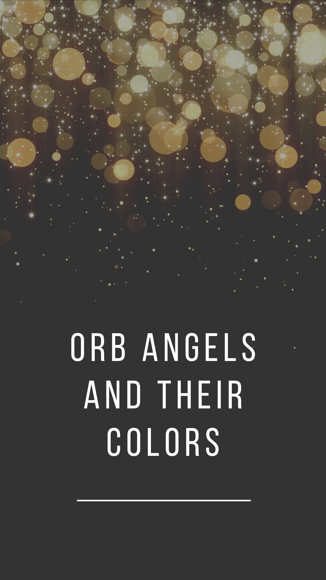 Orb Angels And Their Colors