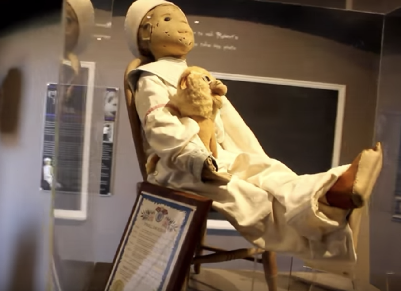 possessed doll