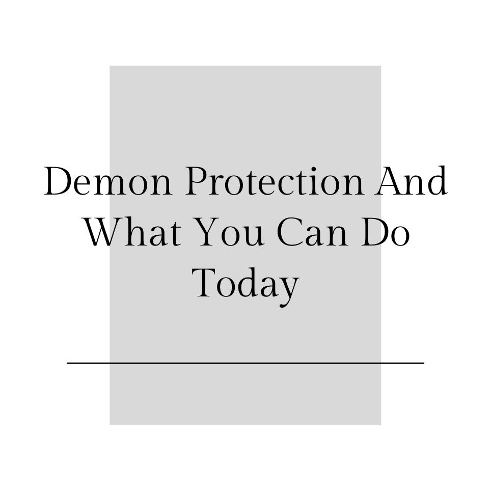 demon protection