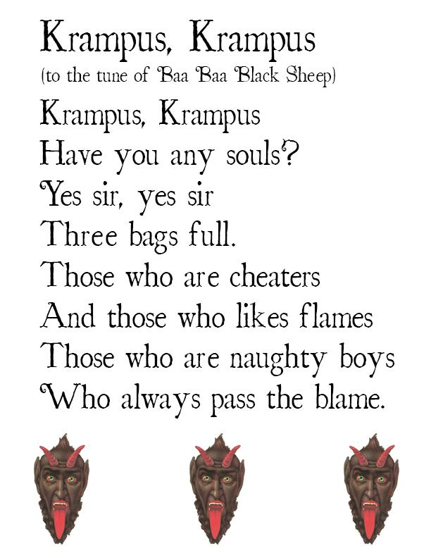 history of krampus
