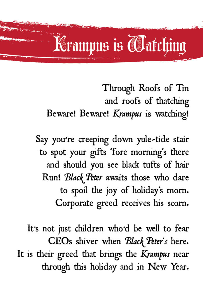 krampus poem