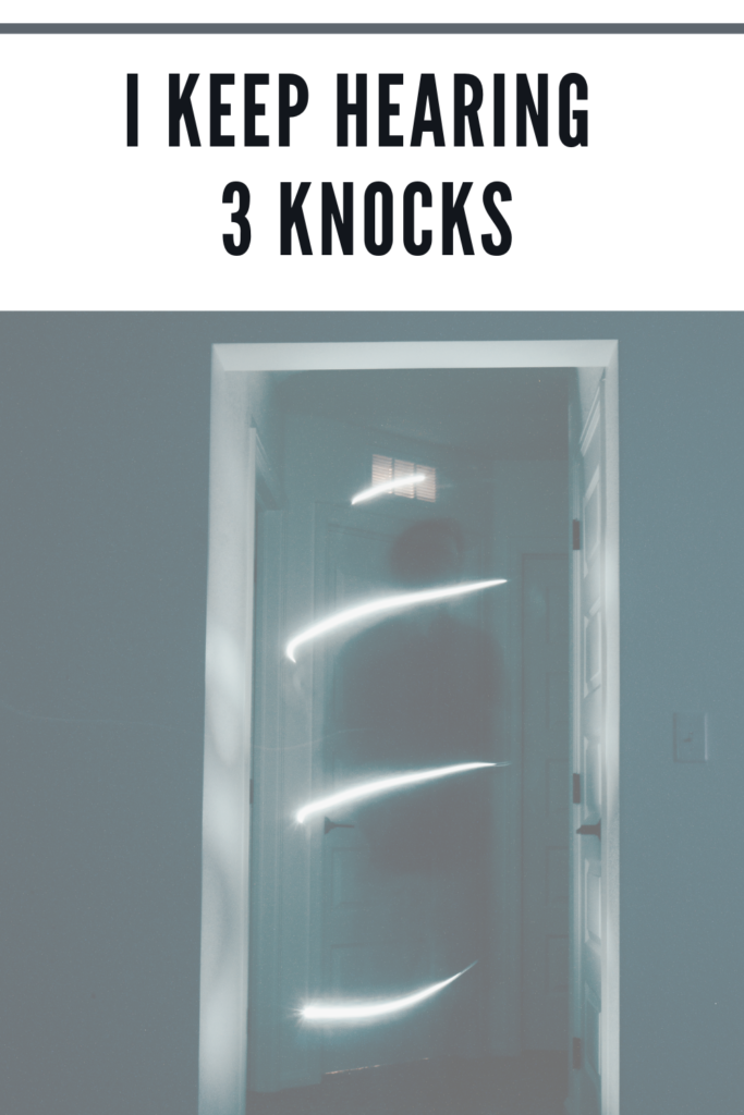 3 knocks meaning