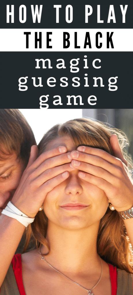 black magic guessing game