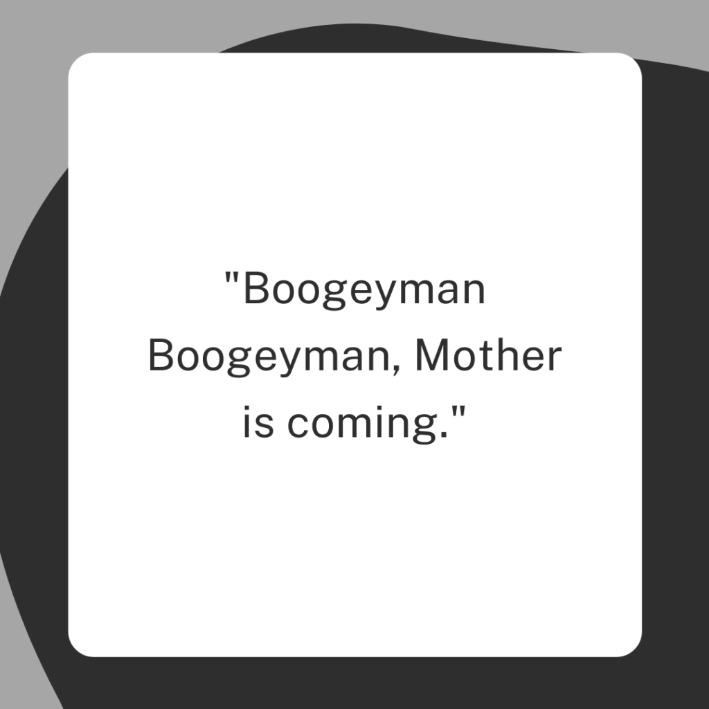 boogeyman quotes