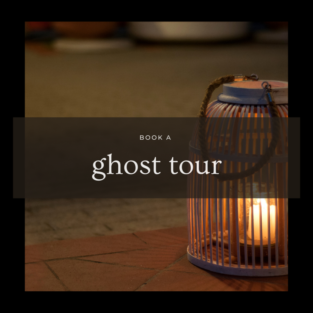 ghost tour booking