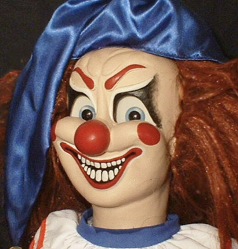 haunted poltergeist clown doll