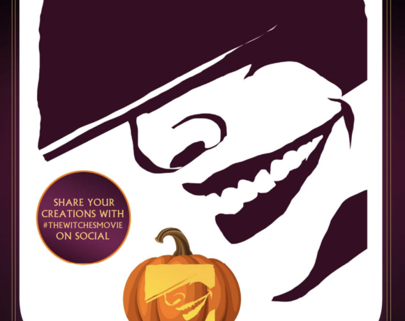 witches pumpkin template
