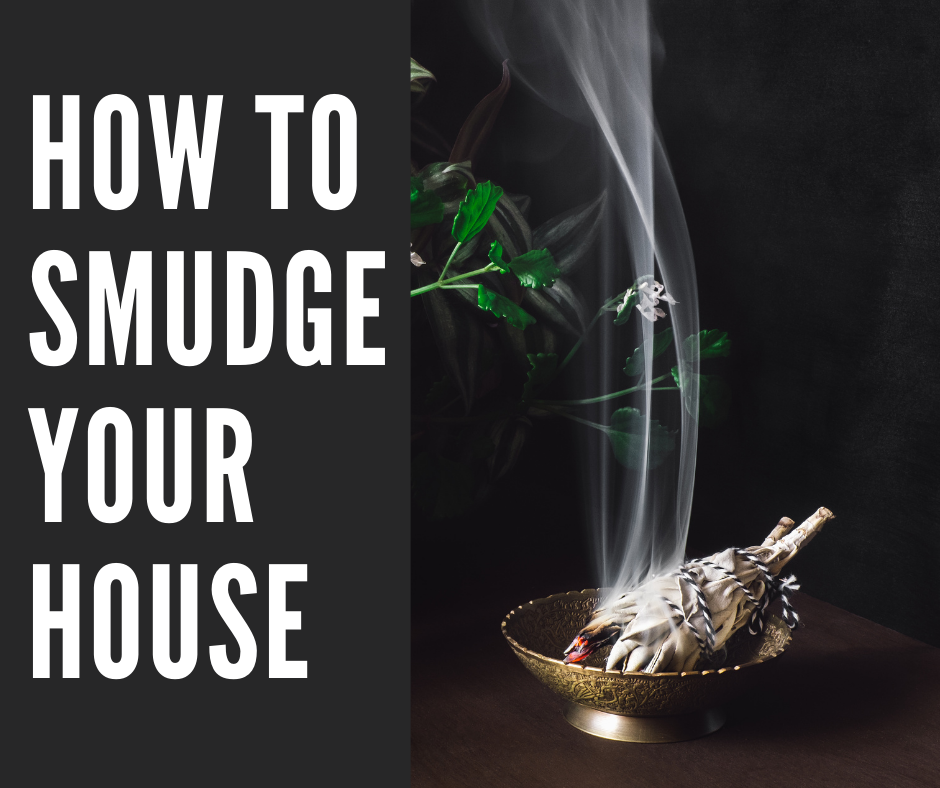 how to smudge your house