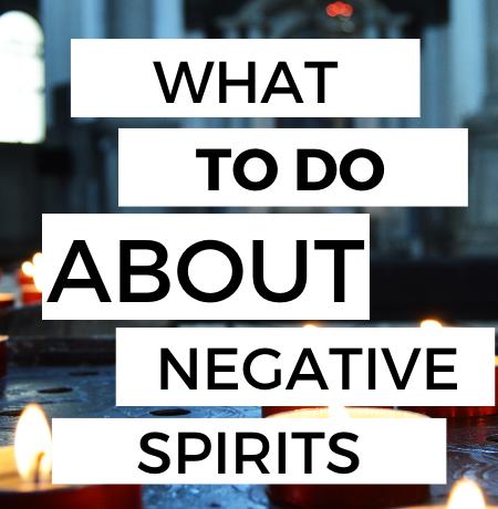negative spirits