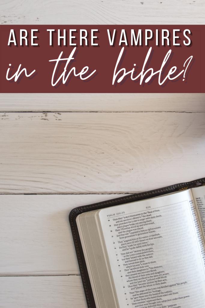vampires in the bible