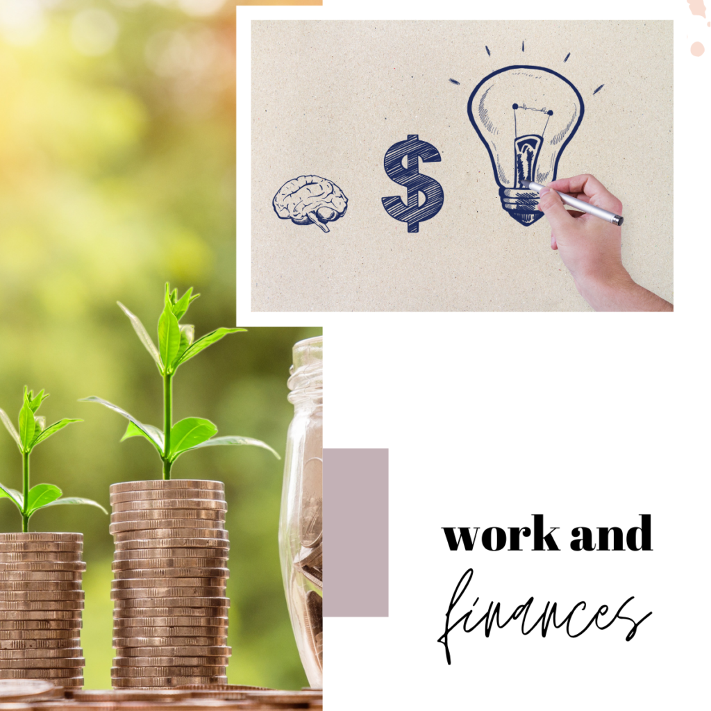 work and finances