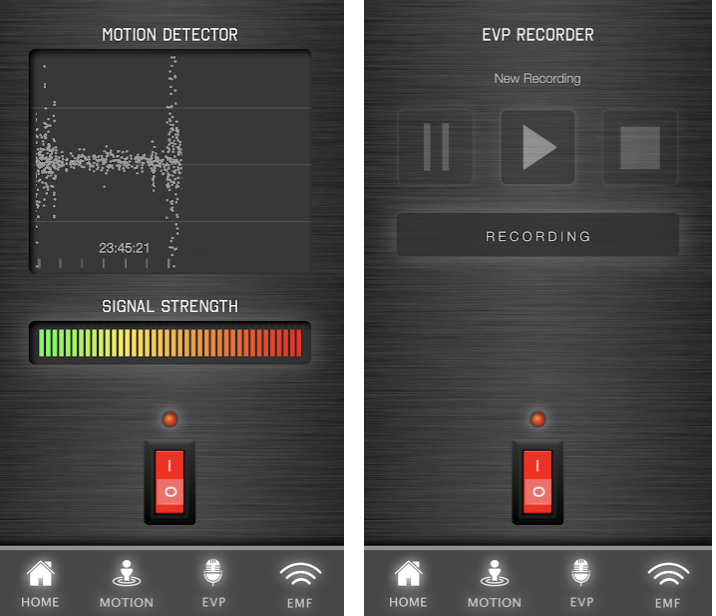 Ghost Tracker EMF EVP Recorder