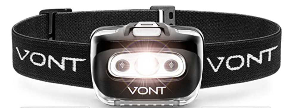 headlamp for ghost hunting