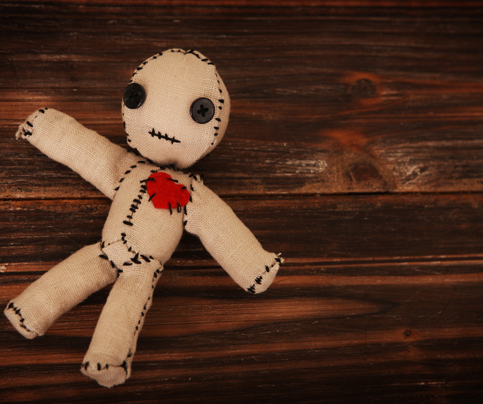 love spell and voodoo doll magic