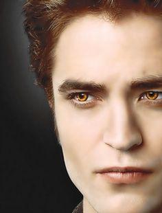 twilight saga edward yellow eyes