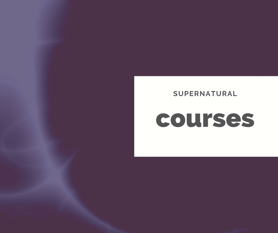 supernatural courses