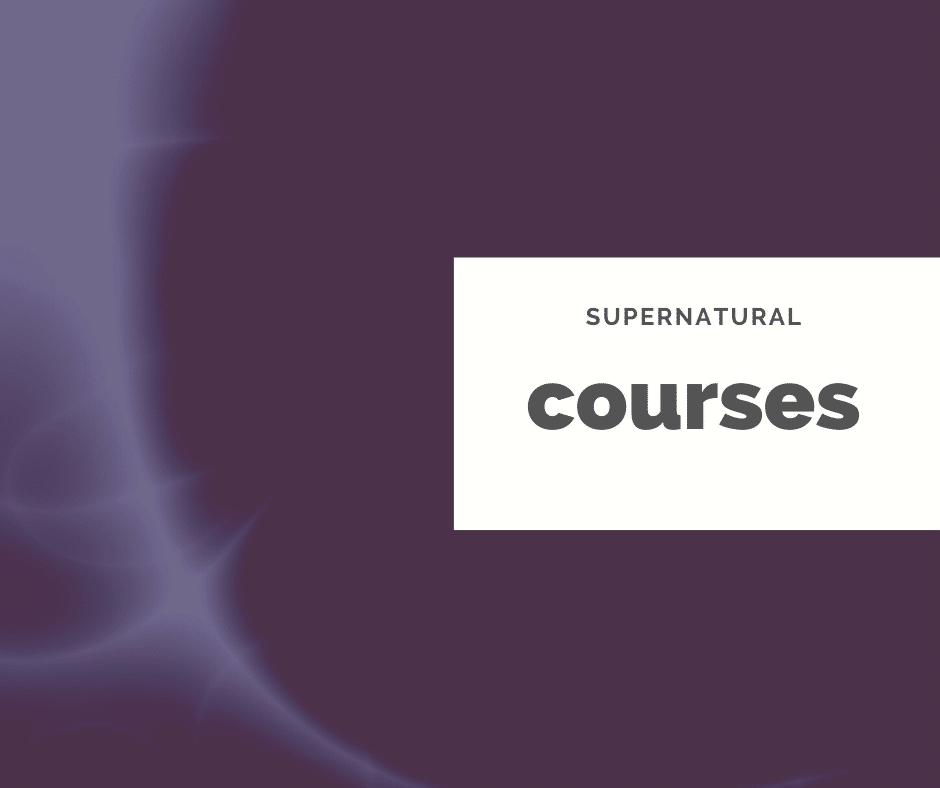 supernatural courses