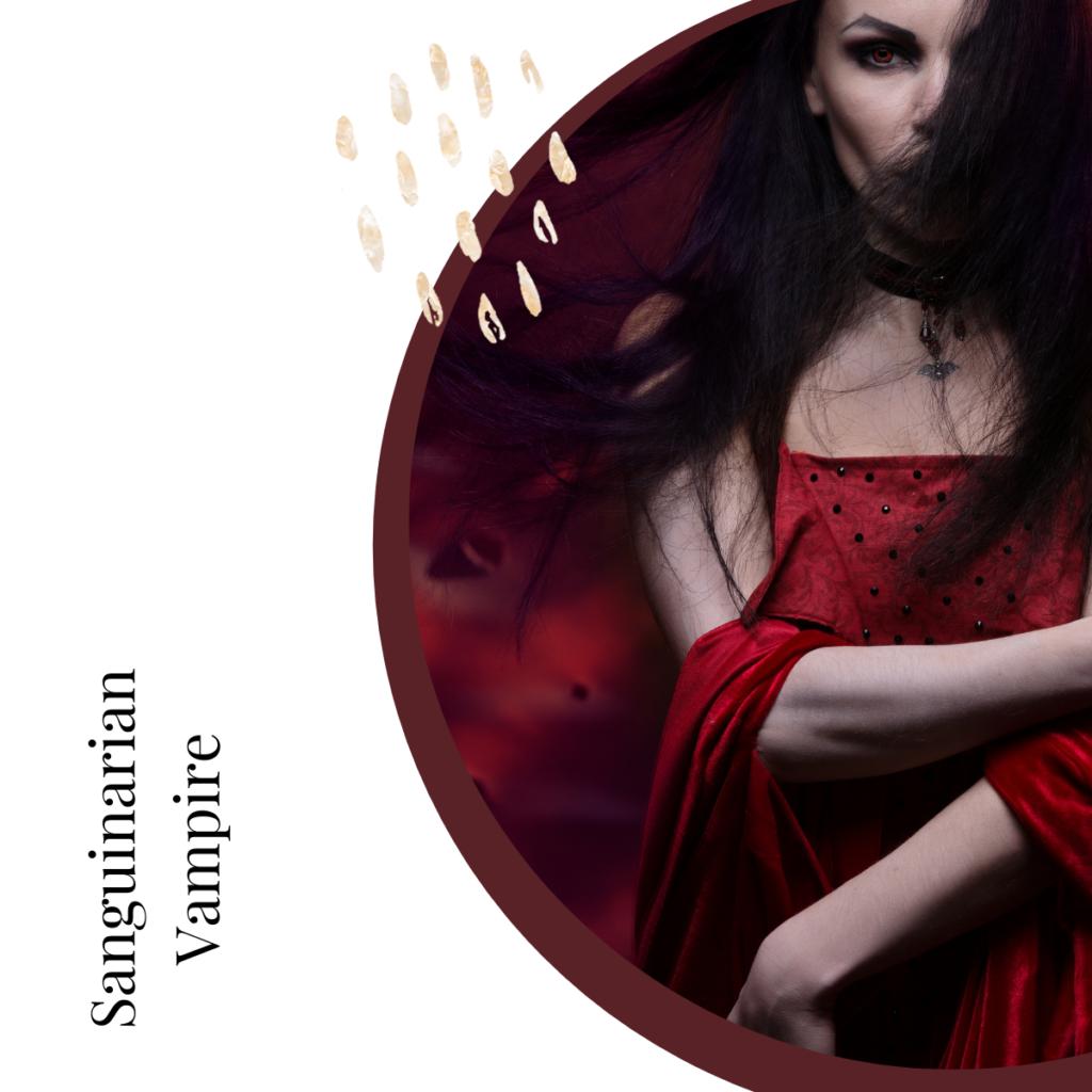 Sanguinarian Vampire